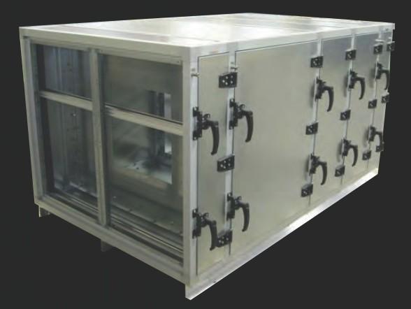 Custom HVAC Cabinet A.J. Manufacturing